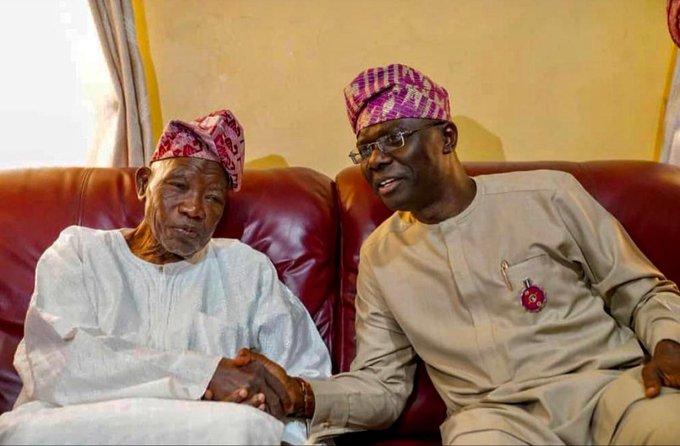 Sanwo-Olu Congratulates Jakande at 91