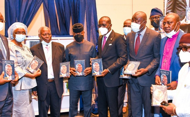 OSINBAJO CHARGES RELIGIOUS LEADERS TO PAY PENTECOST TAX